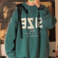 Newise - Lettering Sweater