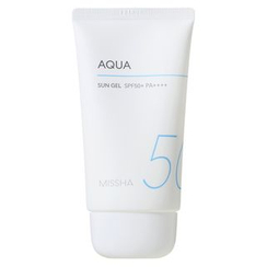MISSHA - Gel solaire All Around Safe Block Aqua Sun Gel SPF50+ 50 ml