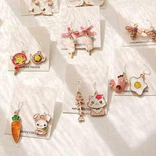 HayHill - Drop Earring / Clip-On Earring (Various Designs)