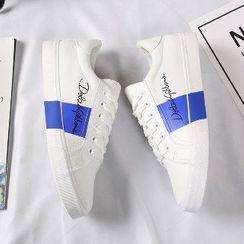 Solejoy - Contrast-Trim Sneakers