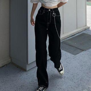 Sosana - Straight-Fit Jeans
