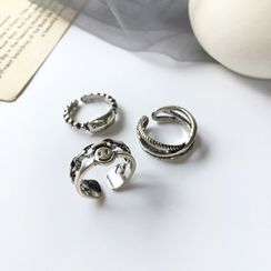 Yambo - Alloy Open Ring (Various Designs)