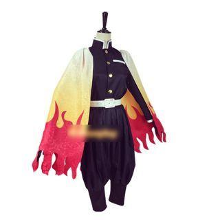Mikasa(ミカサ) - Demon Slayer: Kimetsu no Yaiba Rengoku Kyoujurou Cosplay Costume