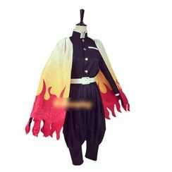 Mikasa(ミカサ) - Demon Slayer: Kimetsu no Yaiba Rengoku Kyoujurou Cosplay Costume