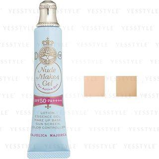 Shiseido - Majolica Majorca Nude Makes Gel SPF 50 PA++++ 25g - 2 Types