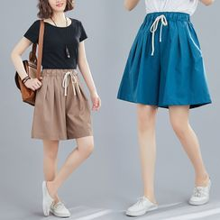 RAIN DEER - Wide Leg Shorts