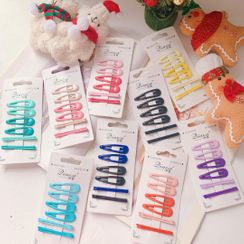 Hello minto - Set : Hair Clips + Hair Pins