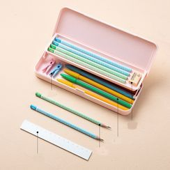 Home Simply - 两层塑胶铅笔盒