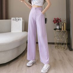 Taraffin - Chiffon Wide Leg Pants