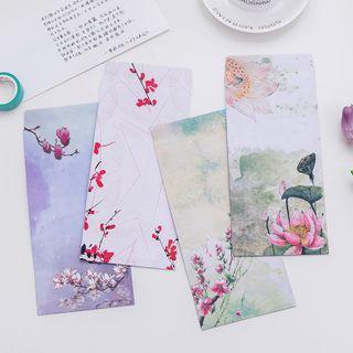 Dukson - Retro Floral Print Envelope