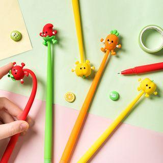 Class 302 - Cartoon Vegetable Pen - 0.5 mm
