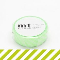 mt - mt Masking Tape : mt 1P Stripe Shocking Green