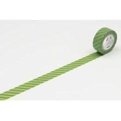 mt - mt Masking Tape : mt fab Stripe Light Green x Moss Green