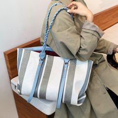 Bleckker - Striped Tote Bag