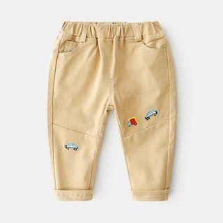 Seashells Kids - Kids Embroidered Harem Pants