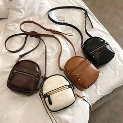 FAYLE - Faux Leather Crossbody Bag