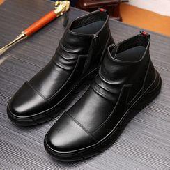 Kayne H - 純色及踝靴