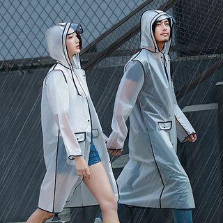 Pagala - Piped Translucent Raincoat