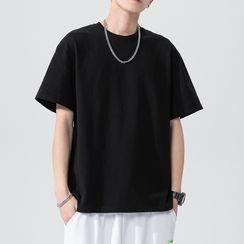 VEAZ - Short-Sleeve Plain T-Shirt