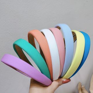 Sesori - 純色布藝髮箍