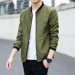 FORSETI - Slim-Fit Bomber Jacket