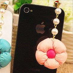 Fit-to-Kill - Cute Flower Mobile Earphone Plug