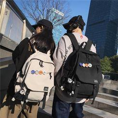 Carryme - 純色帆布背包
