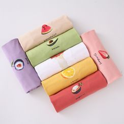 Dreamlure - Fruit Print Short-Sleeve T-Shirt