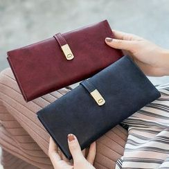 BAUQBAU - Faux Leather Long Wallet