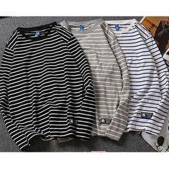 COFE - Striped Long-Sleeve T-Shirt