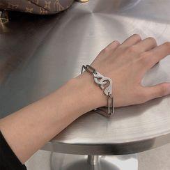 Beanteenie - Alloy Handcuff Bracelet