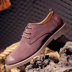 MARTUCCI - 仿麂皮厚底系带鞋