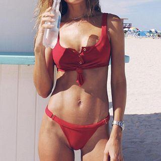 Frutto - Button-Up Bikini