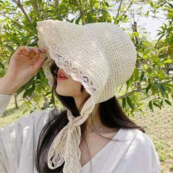 Birravin - Lace  Bonnet Hat