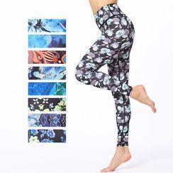 RITMO - 印花瑜伽褲