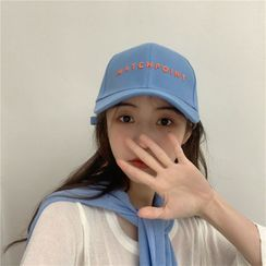 SOCOOL - Letter Embroidered Cap