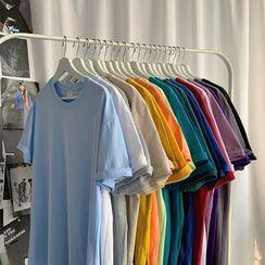 Phoneus - Short-Sleeve Plain T-Shirt