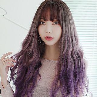 SEVENQ - 長款假髮 - 波浪 / 套裝