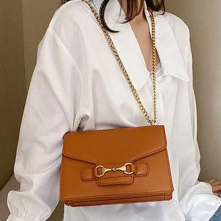 Velocia - Faux Leather Crossbody Bag