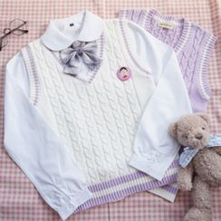 Candy House - Knit Vest