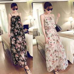 Rocho - Floral Print Sundress