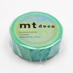 mt - mt Masking Tape : mt 1P Fluorescent Gradation Blue x Yellow