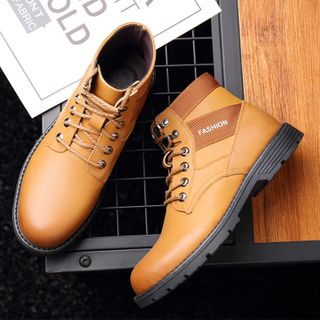 Junster  - Lace-Up Short Boots