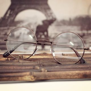 Aisyi - 圆框金属太阳镜