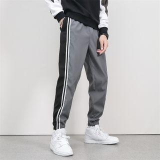 Besto - 条纹运动裤