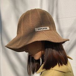 FROME - Applique Knit Bucket Hat