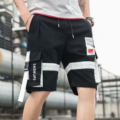 Sister Fleur - Strapped Cargo Shorts
