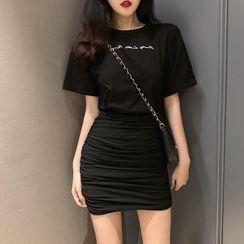 Astarte - Plain Pencil Skirt