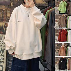 SHIN Shop - 字母印花卫衣