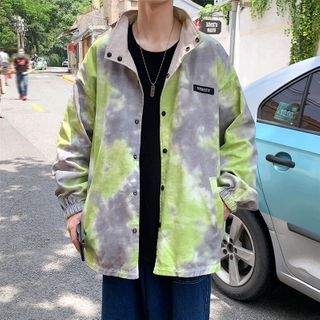 Dukakis - Tie Dye Button Jacket